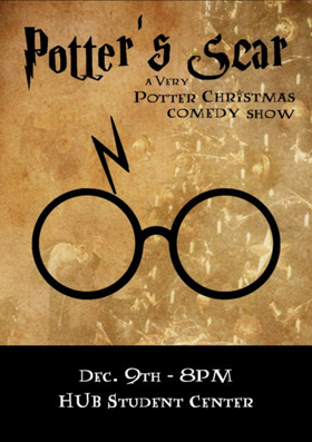 Recycled Minds to Host POTTER'S SCAR Christmas Comedy Show