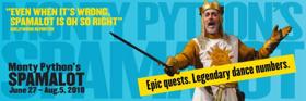 MONTY PYTHON'S SPAMALOT Comes to Cygnet