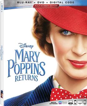MARY POPPINS RETURNS Heads to Digital 4K Ultra HD, 4K Ultra HD, and Blu-ray