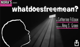 Nora's Playhouse Presents WHATDOESFREEMEAN? By Catherine Filloux