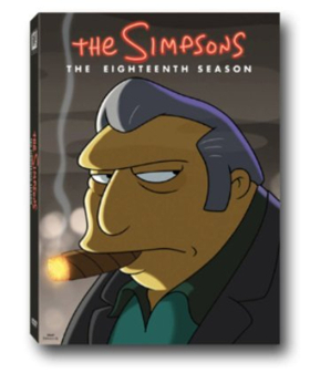 THE SIMPSONS Season 18 Coming to DVD 12/5