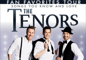 Live at the Eccles Announces The Tenors