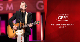 Kiefer Sutherland To Perform at The Grand Ole Opry