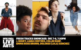 Live Arts' Fresh Tracks Program Presents Five Emerging Choreographers