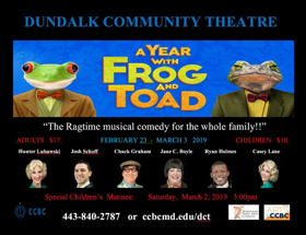 Dundalk Community Theatre Stages A YEAR WITH FROG & TOAD