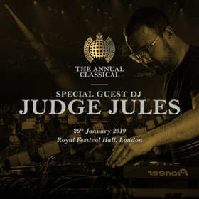 Judge Jules Announced As Special Guest DJ For The Annual Classical World Premiere