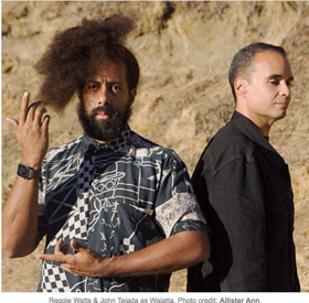 Reggie Watts and John Tejada Form New Group Wajatta And Release First Single 'Runnin' Via Comedy Dynamics Records On December 1, 2017