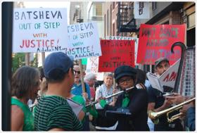 50 NYers Protest Batsheva Dance Company For Whitewashing Israel's Repression