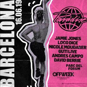 Jamie Jones' Paradise Barcelona Announces Lineup