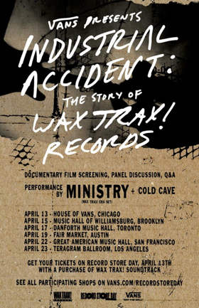 76cadeffb221e1 Vans Presents Wax Trax! Experience Featuring Documentary Film Screening