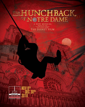 THE HUNCHBACK OF NOTRE DAME Begins Performance Tomorrow at Argyle Theatre