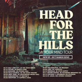 Head For The Hills Announce New EP and Tour Dates
