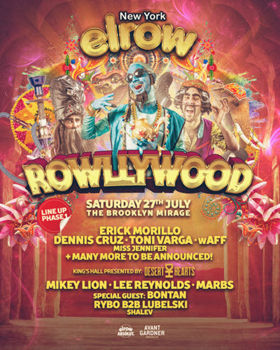 Erick Morillo Leads elrow Lineup at Brooklyn Mirage