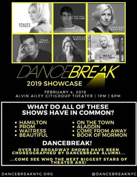 DANCEBREAK Announces 2019 Showcase Next Month