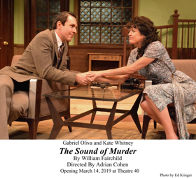 Review: THE SOUND OF MURDER Echoes Within the Walls of Theatre 40