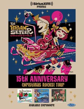 The Brian Setzer Orchestra Announces 15th Anniversary Christmas Rocks! Tour