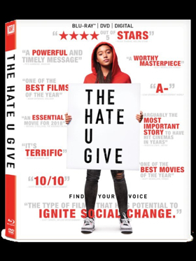 Own THE HATE U GIVE on 4K Ultra HD, Blu-ray And DVD 1/22