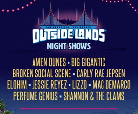 Outside Lands Announces Lineup for Night Shows