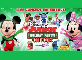 DISNEY JUNIOR HOLIDAY PARTY! ON TOUR Performs at Playhouse Square's Connor Palace in November