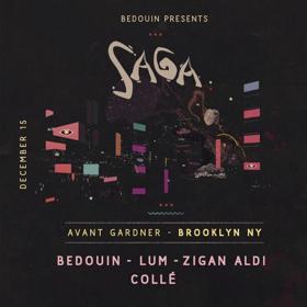 Bedouin Presents 'SAGA' Homecoming In Brooklyn On 12/15