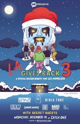 IHEARTCOMIX Presents LA Gives Back 3 On Today
