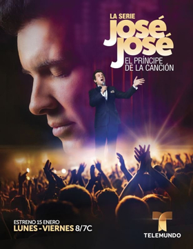 Telemundo's Original Production JOSE JOSE, EL PRINCIPE DE LA CANCION Premieres 1/15