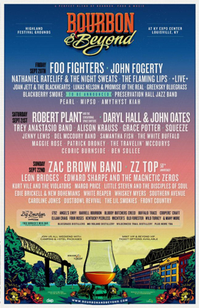 Zac Brown Band, Alison Krauss, ZZ Top and More to Perform at Bourbon & Beyond