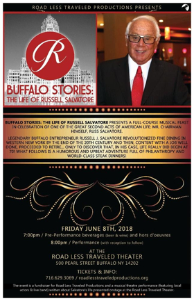 BUFFALO STORIES 2018 to Feature Legendary Local Restaurateur