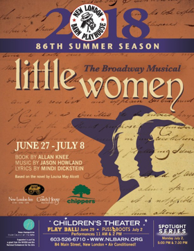 Uplifting Adaptation LITTLE WOMEN Takes the Stage at New London Barn Playhouse