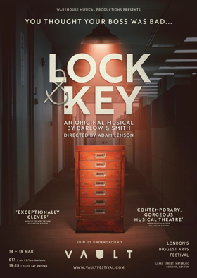 Casting Announced For World Premiere Of New Musical LOCK AND KEY At VAULT Festival