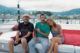 Adam Sandler & Jennifer Aniston Now Filming MURDER MYSTERY for Netflix In Italy