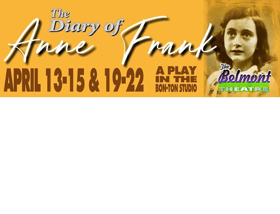 BWW Review: A Harrowing ANNE FRANK at the Belmont