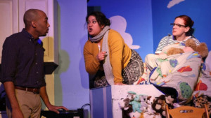 Birth and Death with Comic Brio: AND BABY MAKES SEVEN at The Strand Theater Company