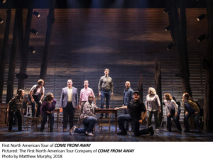 BWW Interview: Julie Johnson of COME FROM AWAY at Peace Center