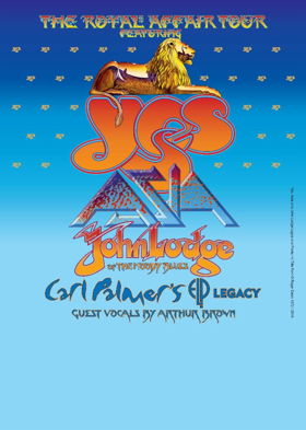 Roger Dean Joins YES' 'The Royal Affair Tour'