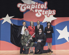 A Washington D.C. Institution, THE CAPITAL STEPS Bring Their Musical And Political Humor To Desert Audiences
