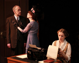 BWW Review: Quotidian Theatre Company's GHOST-WRITER at the Bethesda Writer's Center