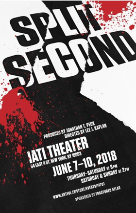 Split Second To Open At The IATI Theater For A Five-Performance Run