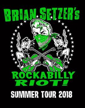 Brian Setzer Announces ROCKABILLY RIOT! U.S. Summer Tour
