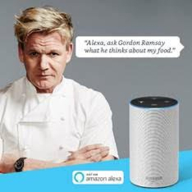 Gordon Ramsay Dishes Out Insults with New Interactive Audio Skill for Alexa