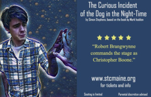 BWW Feature: SOME THEATRE COMPANY, Orono, to present The Curious Incident of the Dog in the Night-Time with a special sensory-friendly performance for people with Autism.