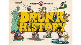 Comedy Central Renews Emmy-Winning Series DRUNK HISTORY For Sixth Season