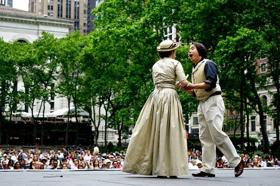 New York City Opera Presents La Traviata At Bryant Park