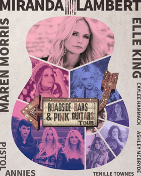 Miranda Lambert Heads Out on 'Roadside Bars & Pink Guitars Tour 2019'