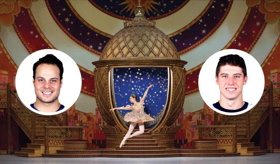 Toronto Maple Leafs Auston Matthews & Mitchell Marner Debut in THE NUTCRACKER as Cannon Dolls