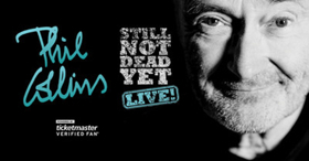 'Phil Collins Still Not Dead Yet, Live!' Announces Fall 2019 Dates