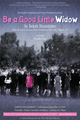 Christopher Sepulveda & 3Gems Productions Announce BE A GOOD LITTLE WIDOW