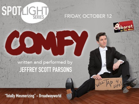 Jeffrey Scott Parsons Brings COMFY To Cabaret At The Merc In Temecula