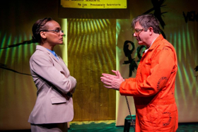 BWW Review: The Gamm's A HUMAN BEING DIED THAT NIGHT Can't Quite Connect