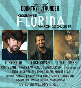 LANCO, Granger Smith and More Added to Country Thunder Florida Lineup
